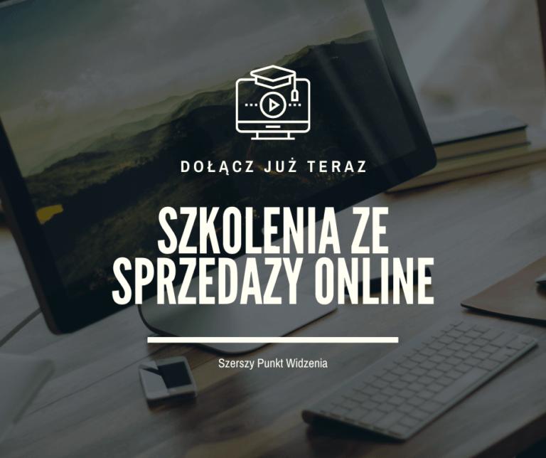 Szkolenia sprzedażowe online